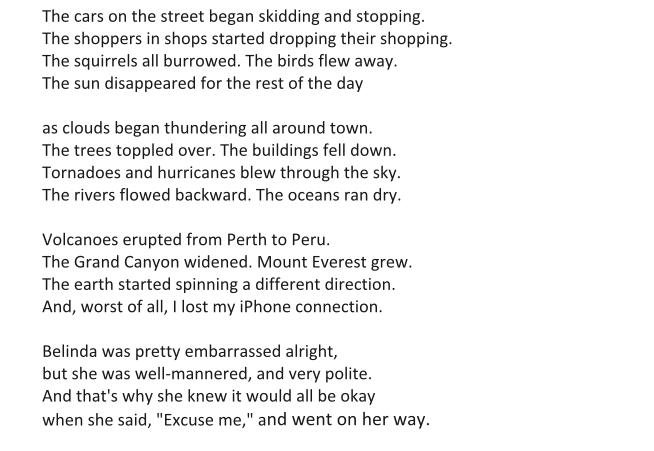 START Poetry: Hyperbole | The Great Adventure