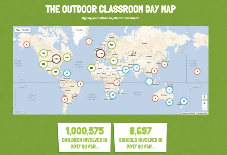 Image result for images world outdoor learning day